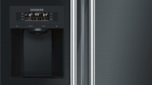 Siemens Kühlschrank Mit Eiswürfelbereiter : Siemens ka dsb home connect iq side by side a cm