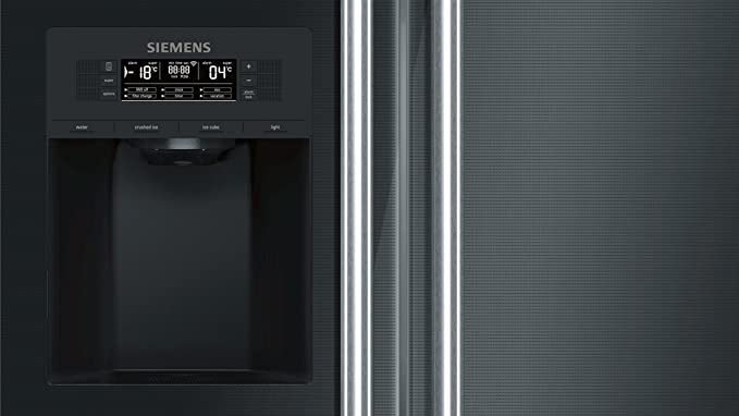 Siemens Kühlschrank Iq700 : Siemens ka dsb home connect iq side by side a cm