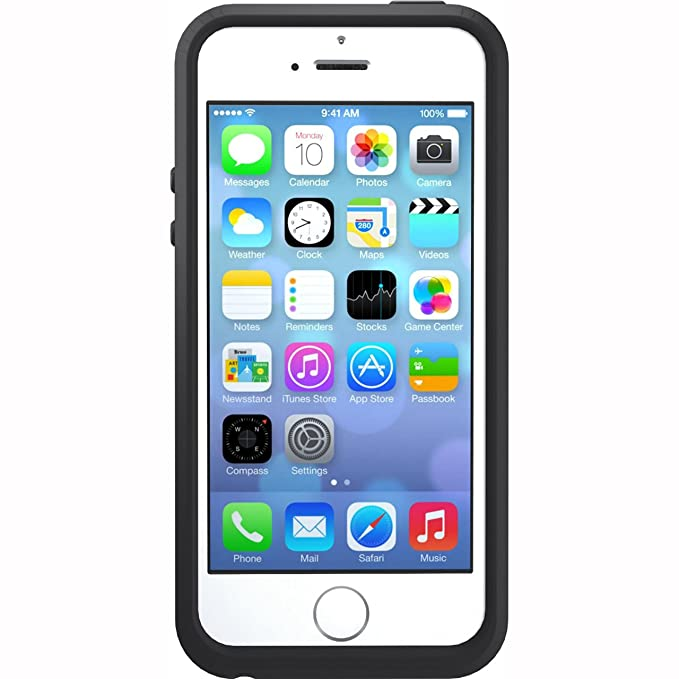 low priced 65ce8 06f38 OtterBox SYMMETRY SERIES Case for iPhone 5/5s/SE - Retail Packaging - DENIM  (DUSK BLUE/SLATE GREY)