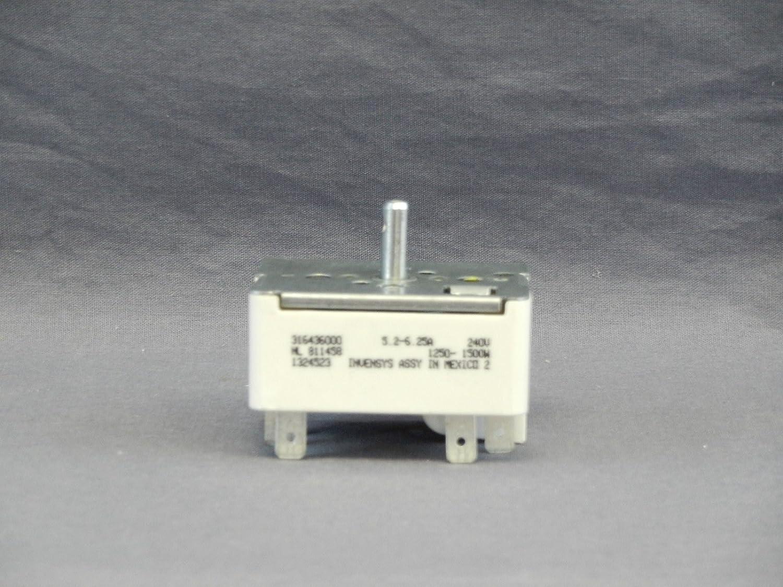 Frigidaire 316436000 Range Surface Burner Element Switch 1324523 1250-1500W 240V