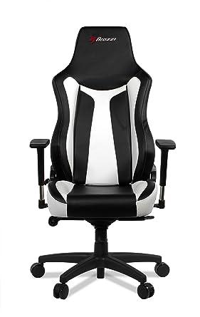 Incredible Arozzi Vernazza Gaming Chair White Amazon Co Uk Pc Inzonedesignstudio Interior Chair Design Inzonedesignstudiocom