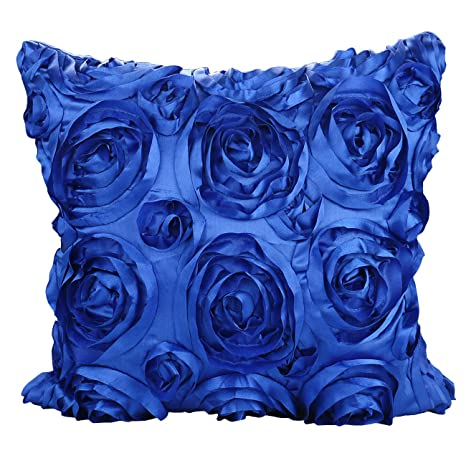 Amazon.com: Luxbon - 3D Rose Shade Blue Sofa Chair Seat ...