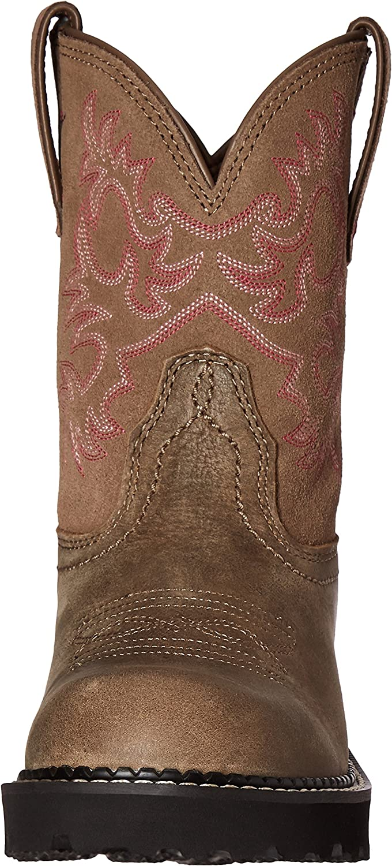 ARIAT Damen Fatbaby Cowboy Stiefel, Gebräbtes Kupfer Legacy Brown Bomber