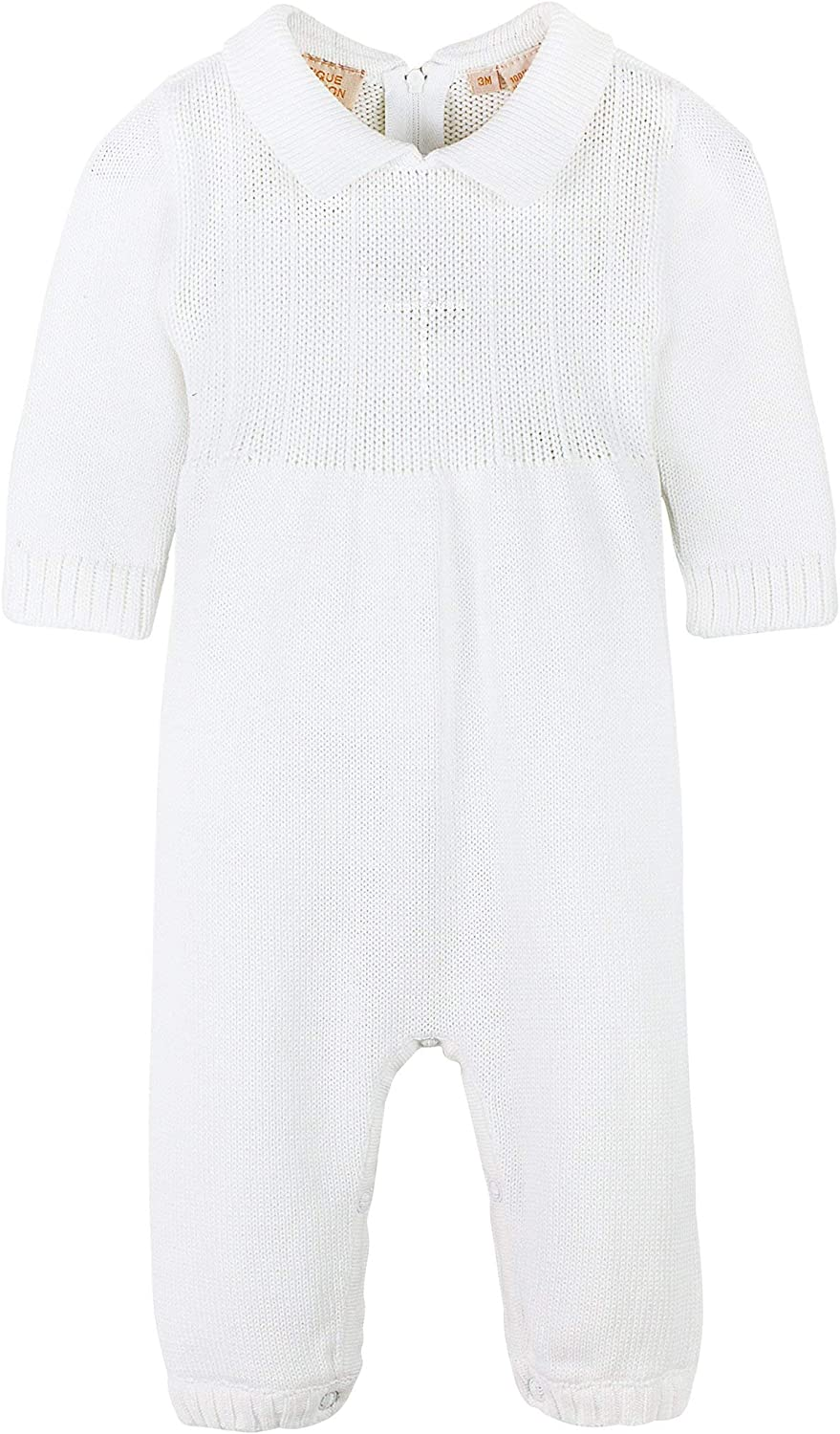 Carriage Boutique Baby Boys Christening Outfit with Bonnet Hat Cross Detail