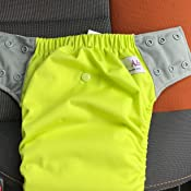 Size 2//15-35Lb, Little Fox EcoAble Toddler Convertible 3-in-1 Cloth Diaper Hybrid w//Pocket /& Insert Everyday Use Swim or Potty Training
