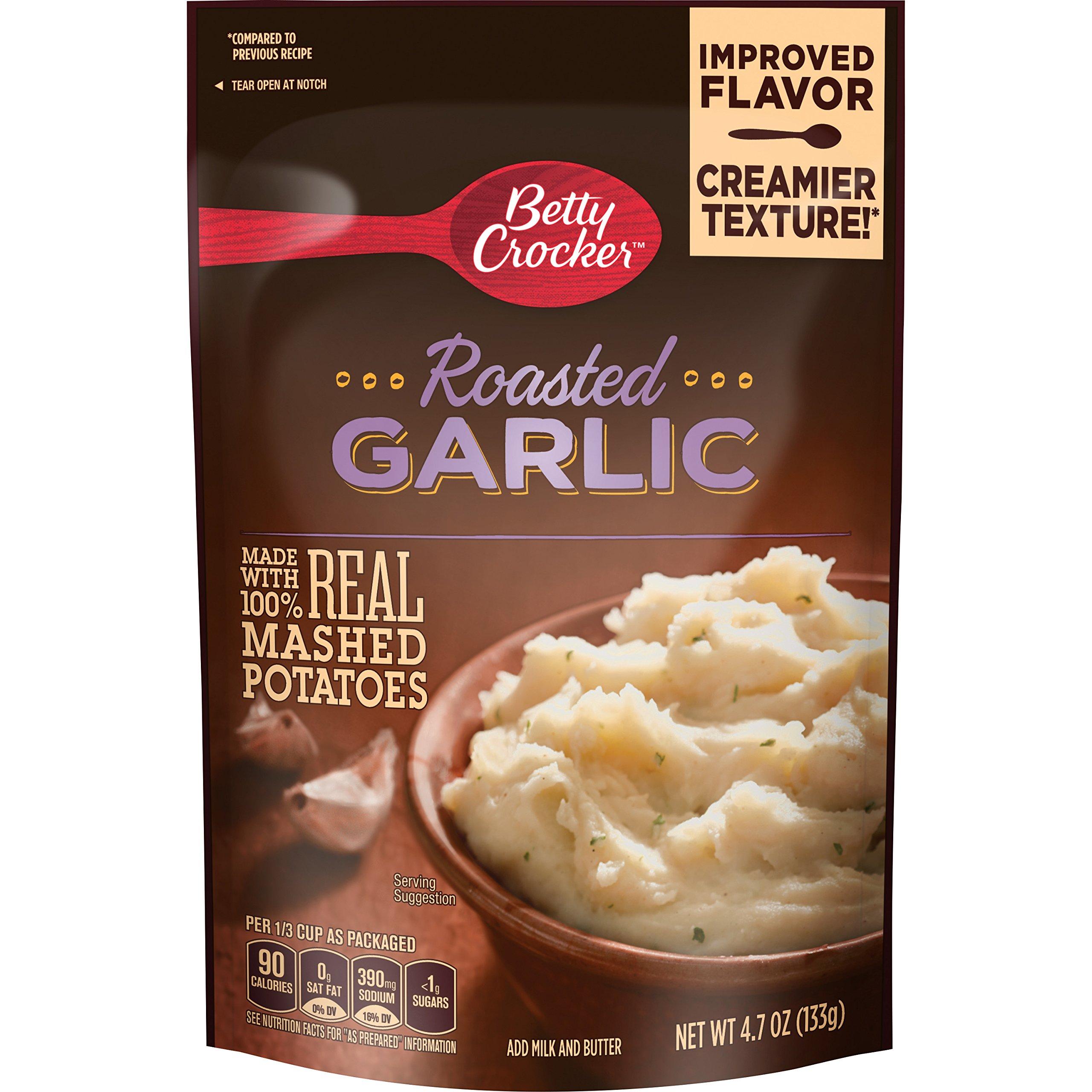 Betty Crocker Savory Roasted Garlic Potatoes, 4.7 Ounce