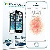 Pack de 3 Films de protection d'écran pour iPhone 5/5S/5C Anti-trace/Anti-doigts