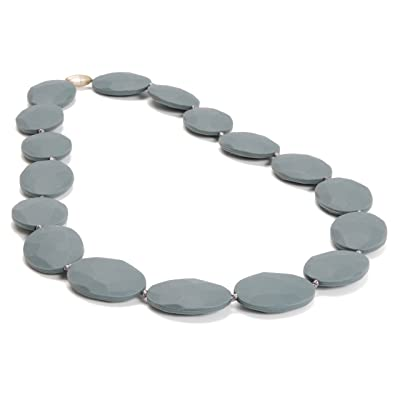 Chewbeads Hudson Necklace - Grey - Unisex : Baby Teether Toys : Baby