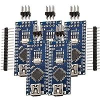 AZDelivery 5 pcs Nano V3 con Atmega328 CH340 compatible con Arduino y con E-Book incluido!