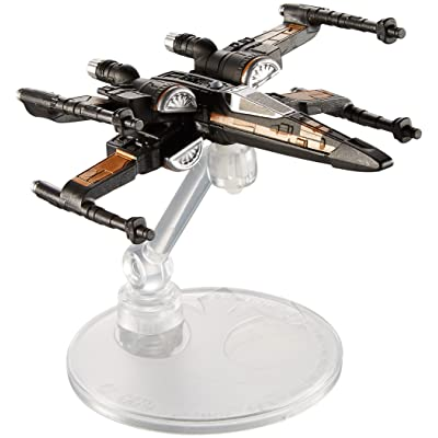Hot Wheels Star Wars Poe's X-Wing Fighter Vehicle: Toys & Games