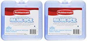 """Rubbermaid - Blue Ice Brand Weekender Pack, Size 7"""" x 1.63"""" x 6.75 (2 Pack)"""