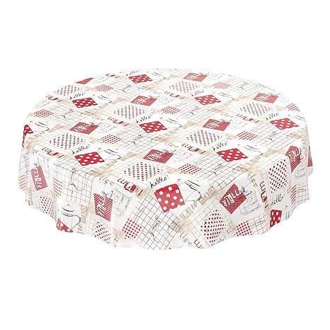 ANRO Hule mesa mantel de hule lavable Cocina jarras tamaño a elegir ...