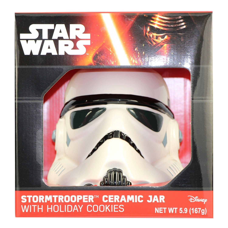 Star Wars Cookie Jar with Holiday Cookies (Stormtrooper) by Cookie Jar