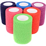 """Ever Ready First Aid Self Adherent Cohesive Bandages 3"""" x 5' - Rainbow Colors (12)"""