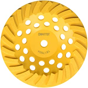 DEWALT DW4773T 7-Inch XP Turbo Diamond Cup Wheel