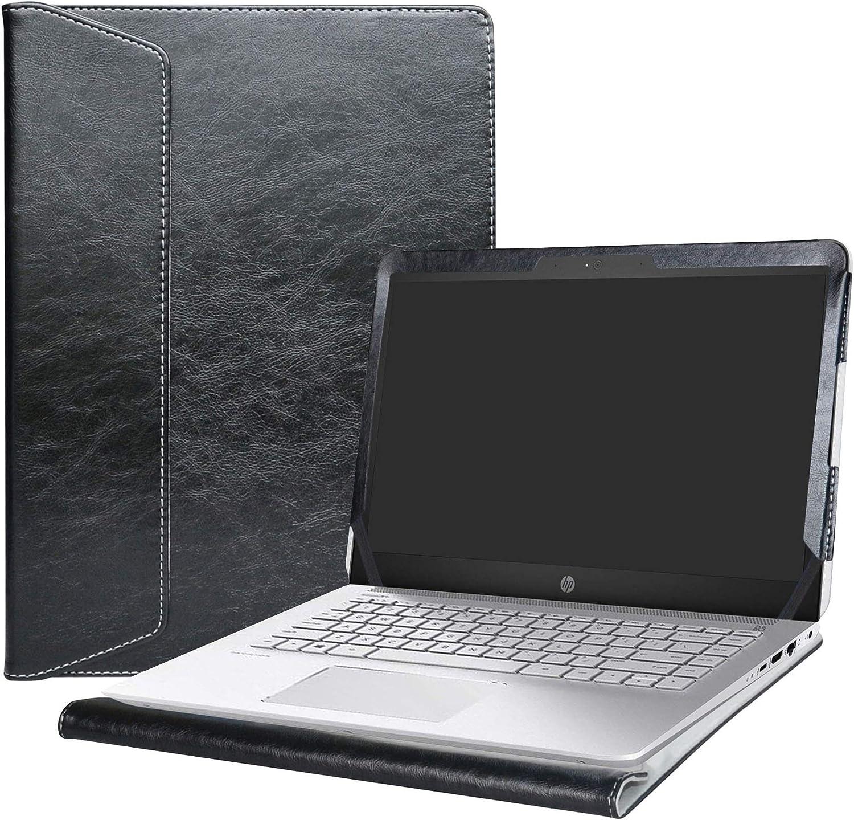 "Alapmk Protective Case Cover for 14"" HP Pavilion 14 14-bkXXX (14-bk000 to 14-bk999,Such as 14-bk061st 14-bk063st) Series Laptop[Warning:Not fit Pavilion 14 14-bXXX 14-abXXX 14-bfXXX],Black"