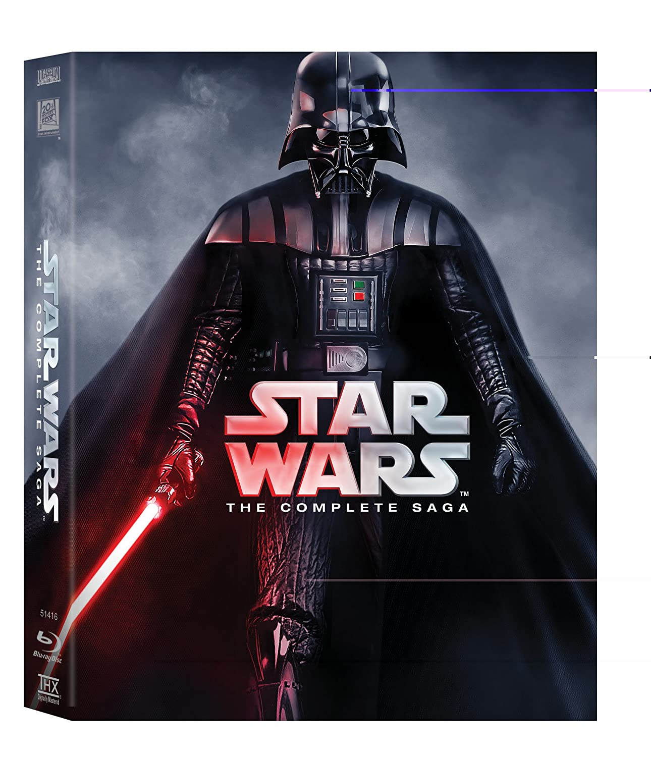 Star Wars The Complete Saga All 6 Movies Collection Episode 1 The Phantom Menace Episode 2 Attack Of The Clones Episode 3 Revenge Of The Box Set Incl