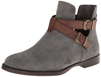 655f0b5769 Bella Vita Women's Raine Boot,Gravel Kid Suede/Amp Dark Brown Leather,6