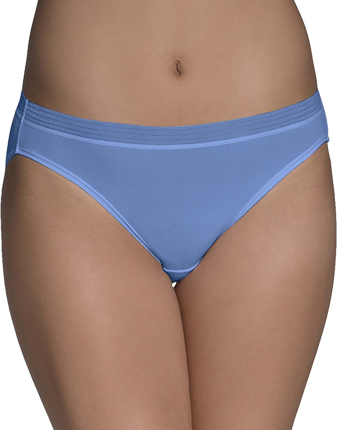 Fruit of the Loom Women/'s Everlight Low Rise Brief 6 Pack