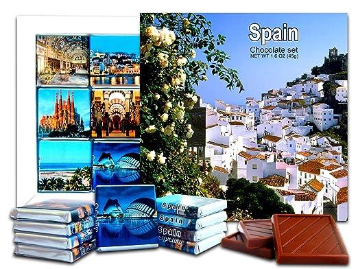 Da Chocolate Candy souvenir España Chocolate Set de regalo 5 ...