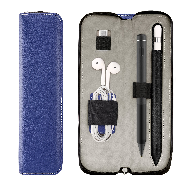 Pencil,Indigo TiMOVO Pencil Holder Case for Apple Pencil 2018 Release, PU Leather Cover for iPad Pro Pencil//Apple Pencil 2, iPad mini 5 2019(7.9,5th Generation /&iPad Air 2019(10.5,3rd Generation