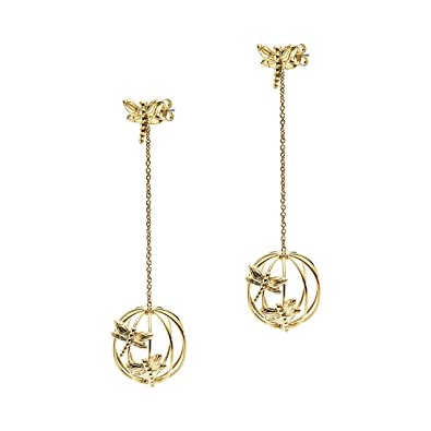 b88dc0b5 Emporio Armani Women Stainless Steel Dangle & Drop Earrings ...