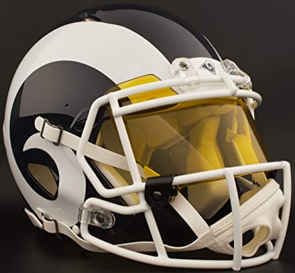 Image Unavailable. Image not available for. Color  Riddell Los Angeles RAMS  NFL ... ba33ea554