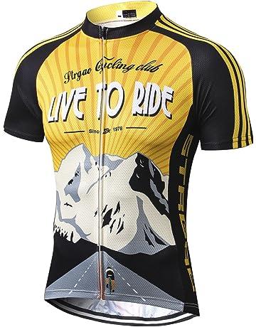 c556bd8b852 MR Strgao Men s Cycling Jersey Bike Short Sleeve Shirt