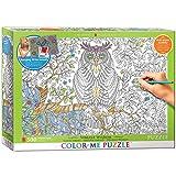 EuroGraphics Vibrant Wisdom Color Me Puzzle (500 Piece)