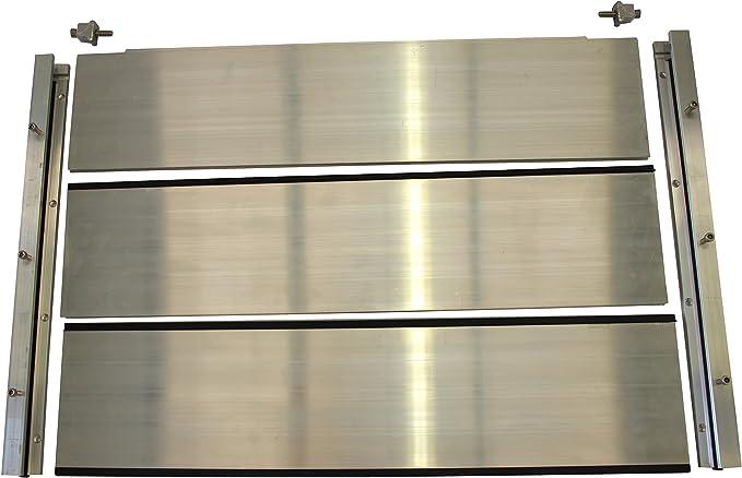 Waterwall Doorguard Ww 1000 X 600 Aluminium Flood Barrier 600 Mm High 1000 Mm X 600 Mm Amazon Co Uk Diy Tools