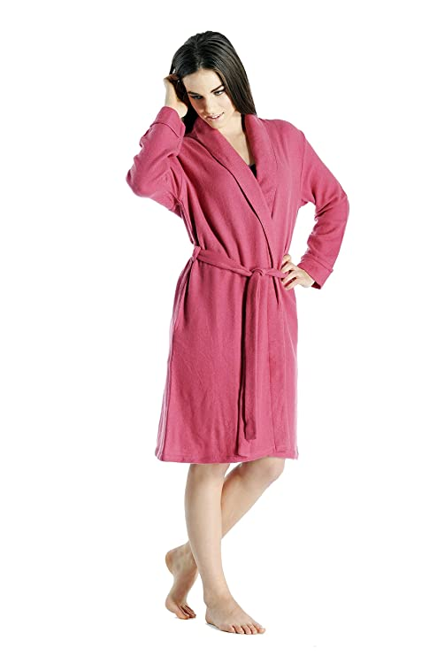 7f80ae0cb8 Women s Short Robe in Pure Cashmere at Amazon Women s Clothing store