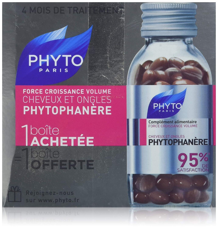 Phyto Duophanere Suplemento alimentar para cabello y uñas, 2 x 120 capsulas
