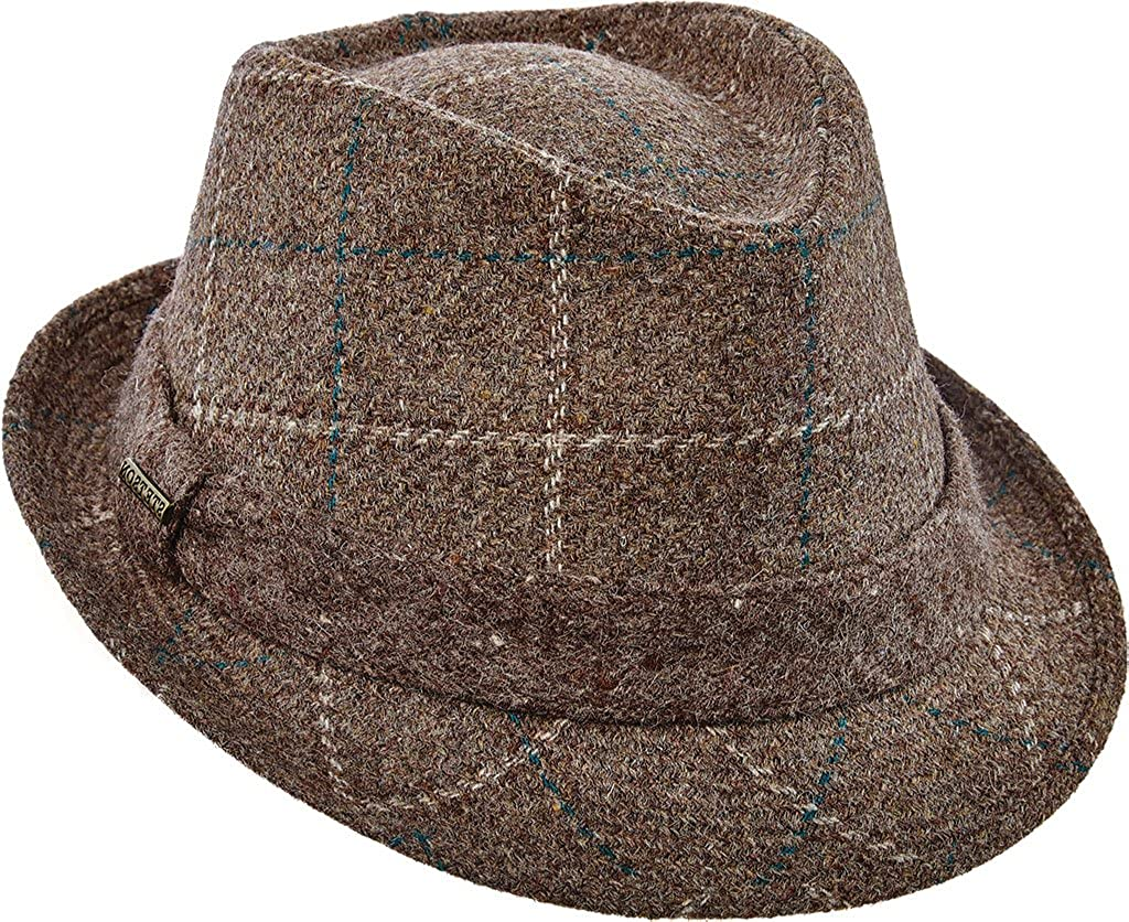 Stetson Men s Italian Wool Fedora Hat 7d1fc1658d8