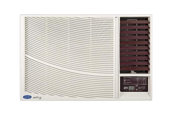 Carrier 1 5 Ton 5 Star Window AC (Copper, Estra Neo, CAW18SN5R39F0, White)