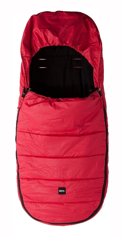 Britax Brio Saco de dormir para carrito de bebé rojo rojo: Amazon.es: Bebé