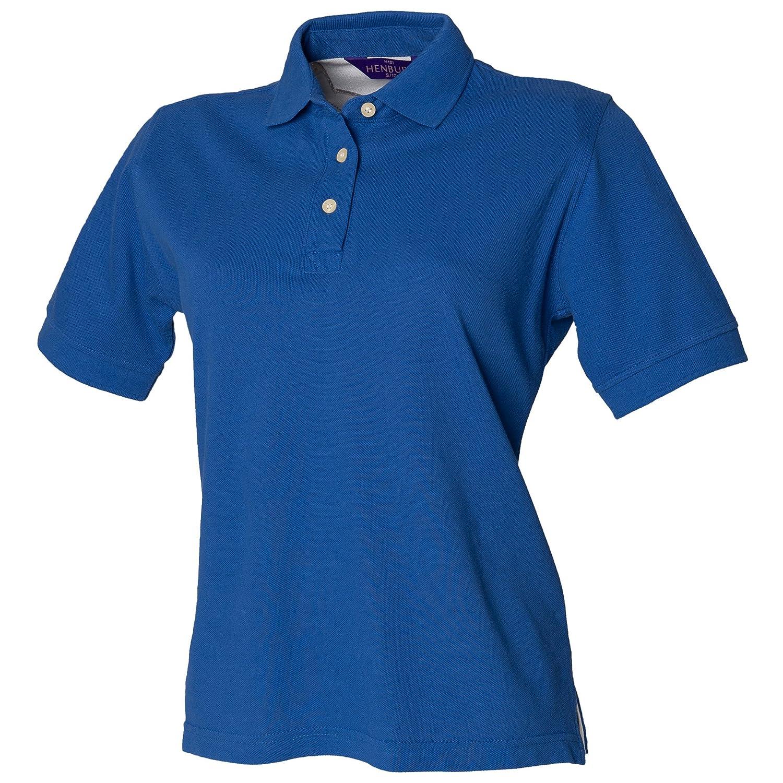 Henbury Ladies Cotton Polo Shirt