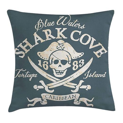 Kinhevao Cojín Pirata, Isla de Tortuga Shark Cove, Aguas del ...