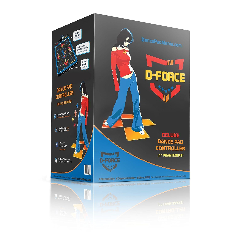 Amazon D Force Deluxe Dance Pump USB Dance Pad puters