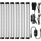 Albrillo LED Under Cabinet Lighting, Dimmable Under Counter Lighting, 2000lm Daylight White LED Strip Lights for Kitchen Shel