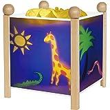 "Trousselier 4351GB 12V ""Magic Lantern Jungle"" Night Lamp"