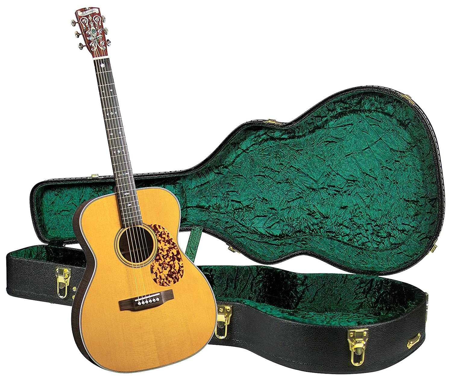 Amazon.com: Blueridge BR-163 Historic Series 000 Guitar with Deluxe  Hardshell Case: Musical Instruments