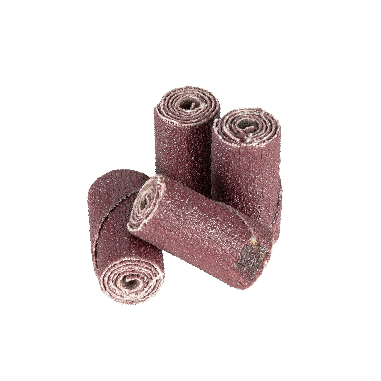 3M Cartridge Roll 341D 1//2 Diameter x 1 Length Pack of 100 Straight 80 Grit 1//2 Diameter x 1 Length