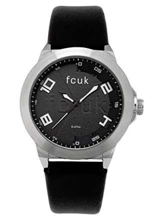 37f17a1316d Image Unavailable. Image not available for. Colour: French Connection Men's  Quartz Watch with Black Dial Analogue ...