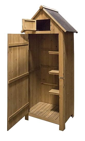 brundle online garden centre wooden garden tool shed natural - Garden Tool Shed