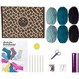 Learn to Knit Premium Beginner Knitting Kit - Socks (Arctic)