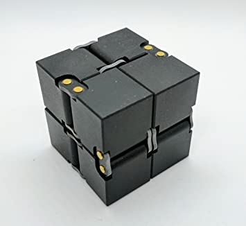 infinity cube 3. closs luxury aluminum edc infinity cube (black) available in 3 colors for stress relief