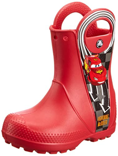 948affeba7d Amazon.com | Crocs 14809 Hndle Mcqueen Boot (Toddler/Little Kid ...