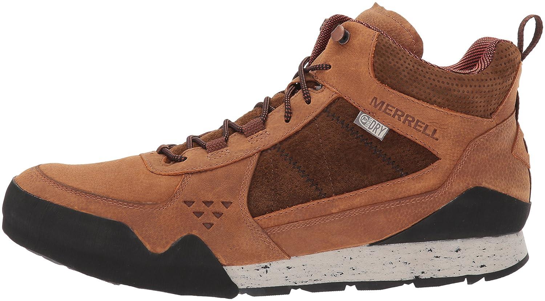 Merrell Burnt Rock Mid Waterproof, Sneaker Uomo