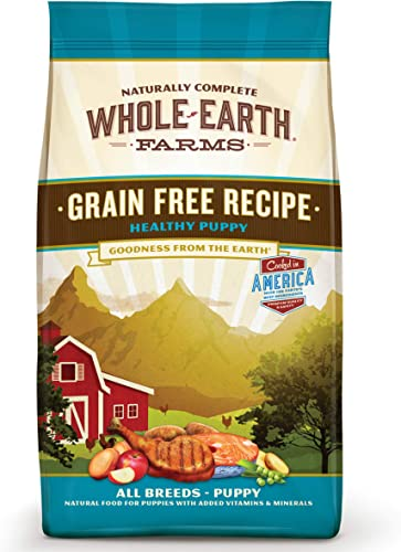 Whole Earth Farms Grain Free Puppy Chicken Salmon Dry Dog Food