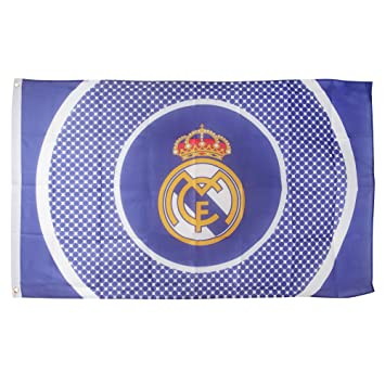 Real Madrid F.C. Flag BE: Amazon.es: Deportes y aire libre